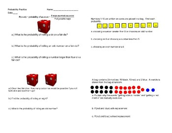 Probability Packet/Stations/Lockbox Activity with key