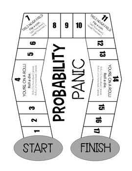 Probability Panic! A Math Board Game