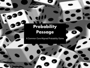 Probability Passage - Common Core Aligned Board Game