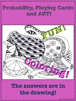 Probability, Playing Cards and Art Worksheet