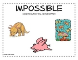 Probability Poster - Impossible Outcome