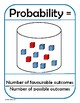 Probability Posters and Flash Cards (Math)
