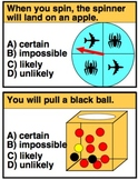 Probability Practice Cards and Worksheets