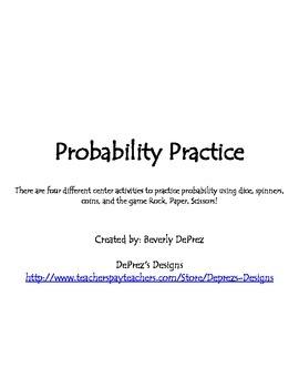 Probability Practice Centers