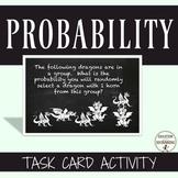 Probability Task Card Activity (CCSS 7SP.7.C)