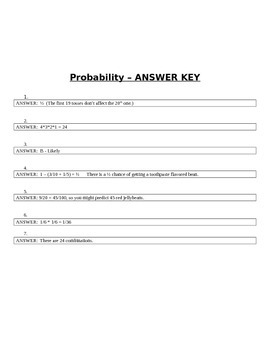 Probability Pre- or Post-Test