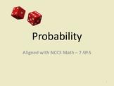 Probability Presentation - 7sp5