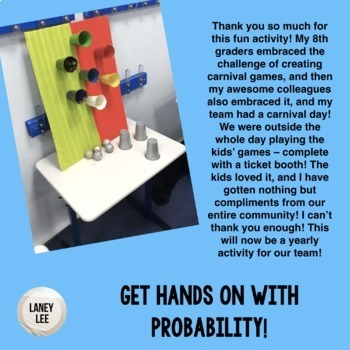 Probability Project - Theoretical and Experimental Probabilities in Games