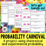 Probability Carnival Game Project - PDF & Digital