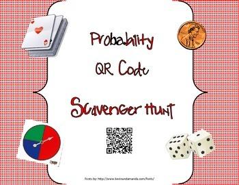 Probability QR Code Scavenger Hunt