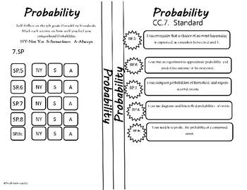 Probability Reflection Sheet
