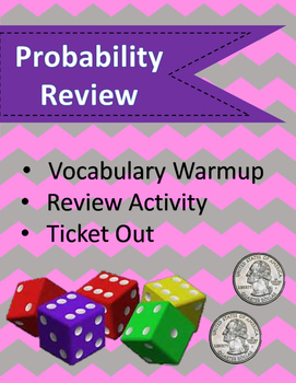 Probability Review 7.6 h, 7.6 I