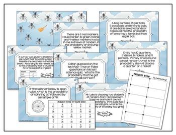 Probability (Simple and Compound) Bingo