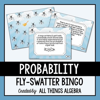Probability (Simple and Compound) Bingo