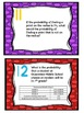 Statistics and Probability Review Task Cards