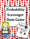 Probability Scavenger Hunt Game