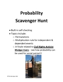 Probability Scavenger Hunt (with a Finale about Activist Medgar Evers)