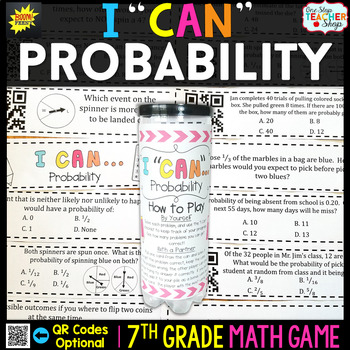 7th Grade Probability Game