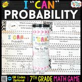 7th Grade Math Game   Probability
