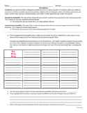 Probability Simulation Notes - Middle School