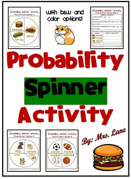 Probability Spinner Activity