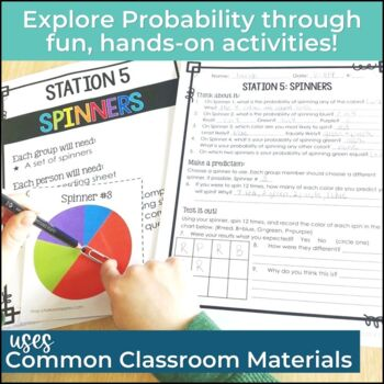 Probability Activities: Hands-On Probability Stations