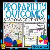 Describing Probability Outcomes Task Cards