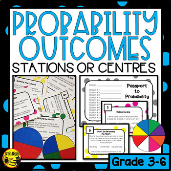 Describing Probability Outcomes Task Cards