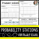 Probability : Middle School Math Stations