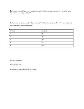 Probability & Statistics Enrichment