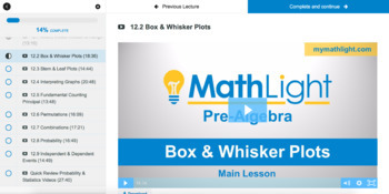 Probability & Statistics | Pre-Algebra Unit with Videos