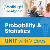 Probability & Statistics | Unit with Videos | Good for Dis