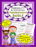 Probability & Statistics Worksheets & Test - 7th Grade