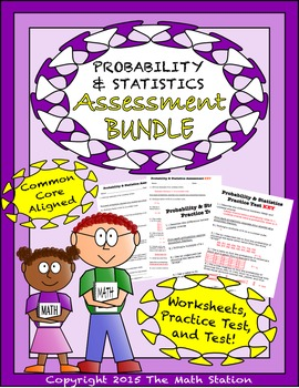 Probability & Statistics Worksheets & Test -... by The Math ...