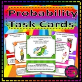 Probability Task Card Set - Great unit, STAAR or distance learning activity