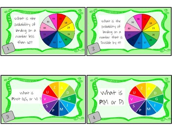 Probability Task Cards!