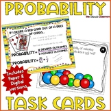 Probability Activity | Probability Task Cards