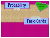 Probability Task Cards ~ 7th Grade Math