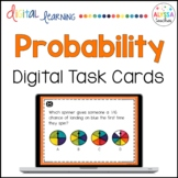Probability Task Cards (Digital)   Distance Learning