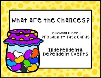 Probability Task Cards (Independent and Dependent Events)