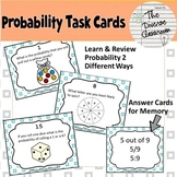 Probability Task Cards and Memory