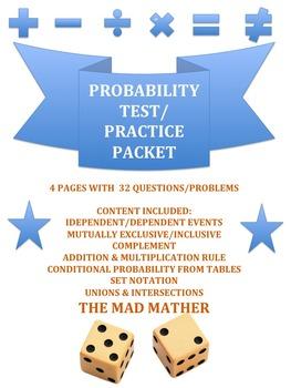 Probability Test