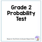 Probability Test (Grade 2)