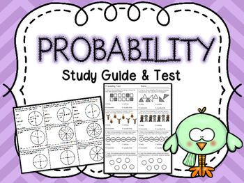 Probability Test & Study Guide