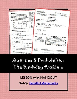 Probability: The Birthday Problem