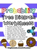 Probability Tree Diagram Worksheets