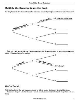 Probability Trees Explained