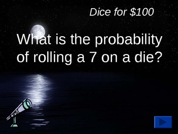 Probability Trivia Review PowerPoint