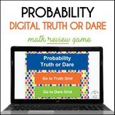 Probability Truth or Dare Digital Math Game