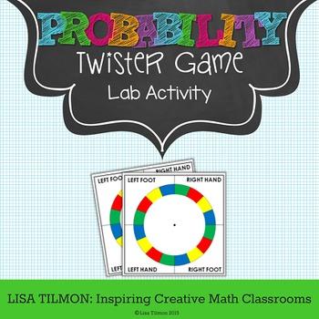 Probability Twister Lab Activity